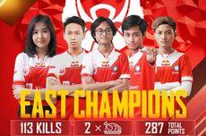 Juara PMWL Season Zero 2020 Wilayah Timur, Bigetron RA Harumkan Nama Indonesia