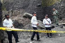 Tebing Longsor, Seorang Penambang Pasir Tewas, Empat Lainnya Terluka