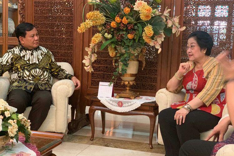 Pertemuan Megawati Soekarnoputri dan Prabowo Subianto