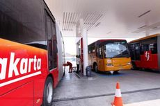 Dua Bus Transjakarta Terlibat Kecelakaan di Halte Wali Kota Jakarta Timur