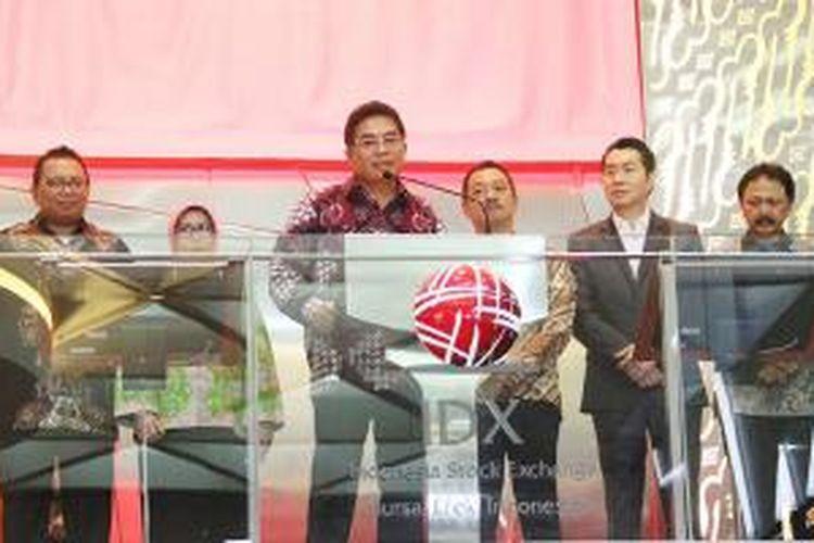 pembukaan perdagangan Telkom Indonesia di BEI sejak 20 tahun berkiprah di lantai bursa