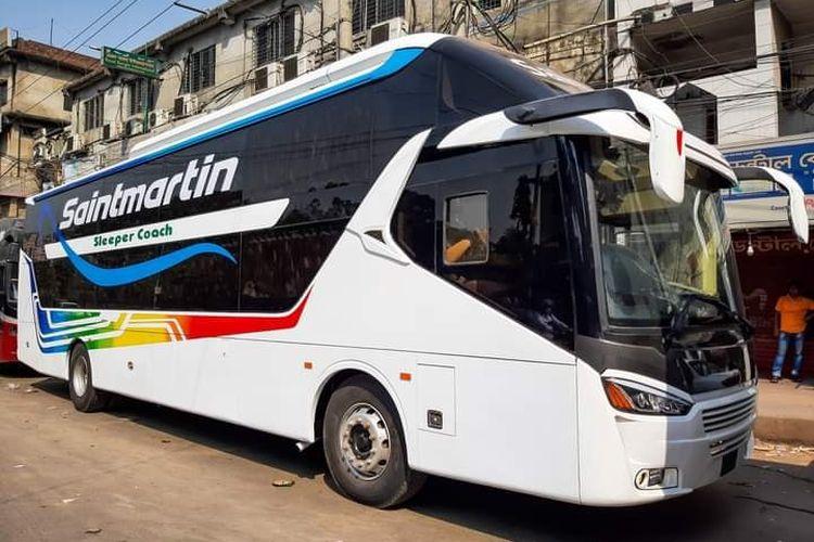 Jiplakan bus suites class di Bangladesh