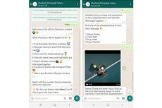 Cara Pantau Update Olimpiade Tokyo 2020, Bisa Lewat Whatsapp!