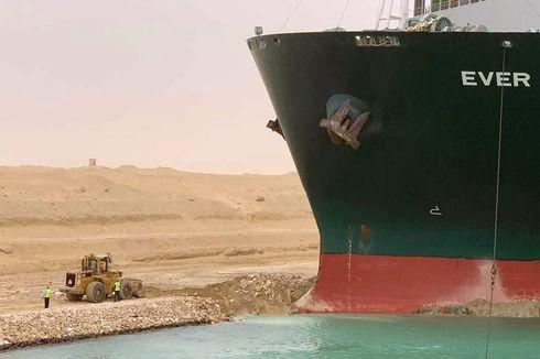 Otoritas Terusan Suez Bantah Klaim Operator Ekskavator yang Bebaskan Ever Given Belum Dapat Uang Lembur dan Bonus