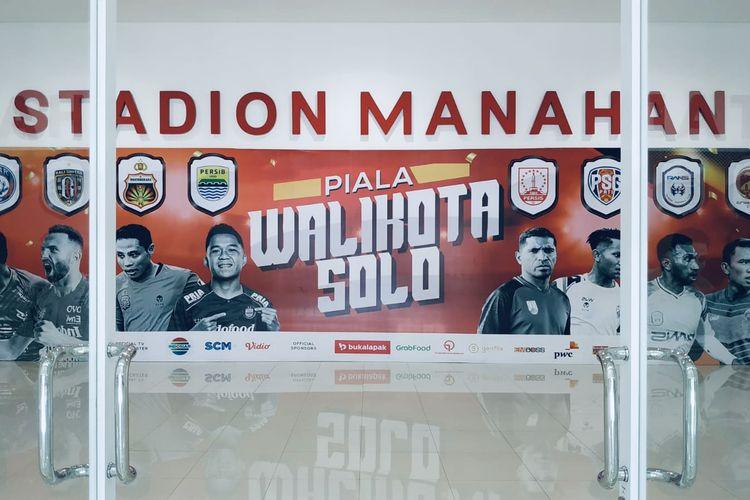 Piala Wali Kota Solo, turnamen pramusim 2021 yang akan diselenggarakan mulai Selasa (29/6/2021) sampai Minggu (04/07/2021) di Stadion Manahan Solo.
