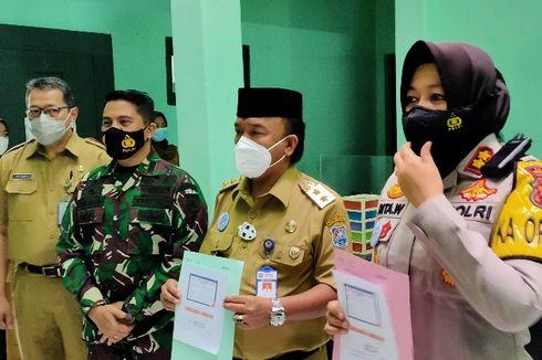 2.017 Nakes dan 7 Pejabat Jalani Vaksinasi Covid-19 Dosis Kedua di Tegal