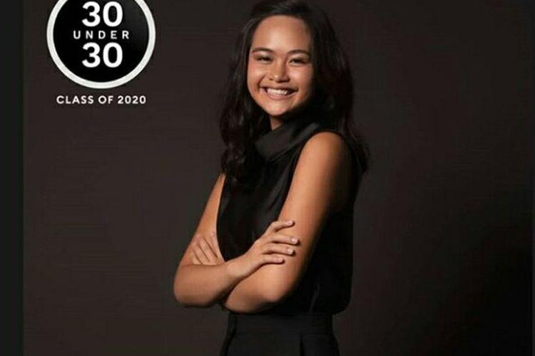 Faye Hasian Simanjuntak cucu tertua Menko Kemaritiman dan Investasi, Luhut Binsar Pandjaitan dinobatkan sebagai orang paling berpengaruh Under 30 versi Forbes Indonesia