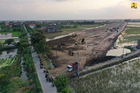 [POPULER PROPERTI] Konstruksi Fisik Tol Semarang-Demak Capai 10,56 Persen