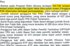 KPU Riau Keberatan atas Gugatan Prabowo-Hatta ke MK