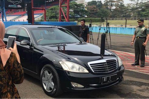 Berapa Harga Mercedes-Benz S600 Pullman Guard Bekas Presiden Jokowi?