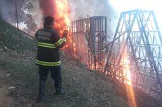 Ikon Kota Padang Senilai Rp 6,37 Miliar Terbakar, Pemkot Dikritik