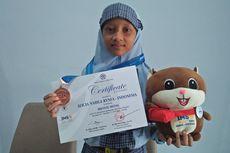 Kisah Alicia, Bocah SD Peraih Perunggu Olimpiade Matematika-IPA yang Bercita-cita Jadi Dokter