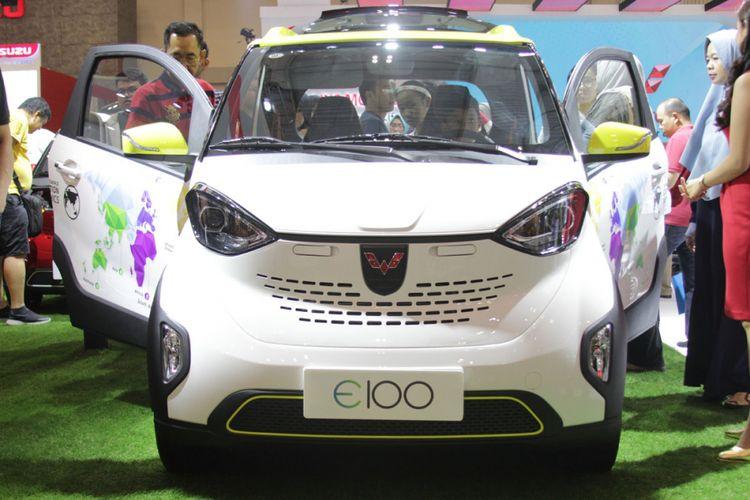 Wuling E100 di GIIAS 2018.
