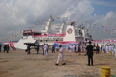 Diambil dari Nama Pulau Terdepan, 3 Kapal Baru Perkuat Bakamla