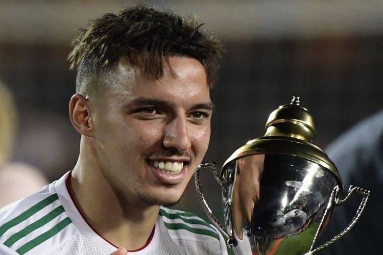 Ismael Bennacer menjuarai Piala Afrika 2019 bersama timnas Aljazair.