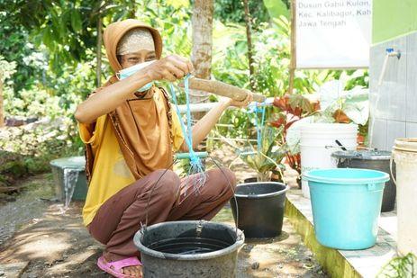 Atasi Kekeringan di Desa Suro, Dompet Dhuafa Bantu Buatkan Sumur Bor