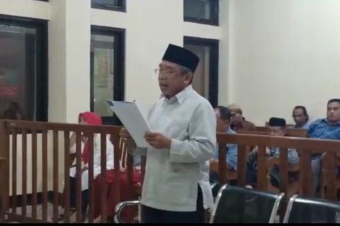 Bacakan Pembelaan, Pelawak Nurul Qomar Merasa Jadi Korban Politik Cirebon