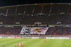 Polisi Thailand Buru Suporter yang Nyalakan Cerawat