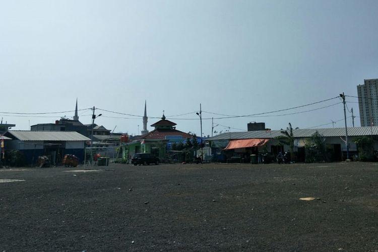 Kondisi Kampung Akuarium, Penjaringan, Jakarta Utara, Rabu (9/10/2019).