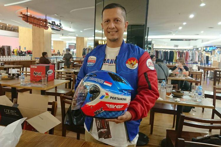 Direktur Mandalika Racing Team, Kemal Nasution, saat ditemui dengan beberapa media terpilih termasuk Kompas.com di Jakarta Selatan pada Kamis (6/5/2021).