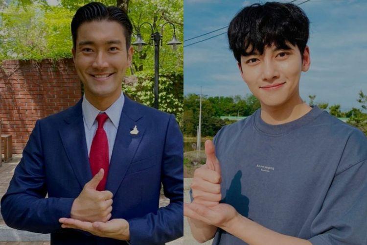 Siwon dan Ji Chang Wook.