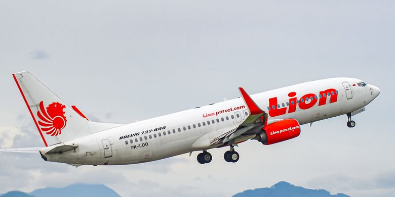 A Lion Air Boeing 737-800NG taking off