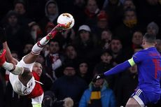Arsenal Vs Olympiakos, Luapan Kecewa Aubameyang Usai The Gunners Gugur