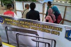 Gerbang ERP Mulai Dikerjakan di Jalan Sudirman