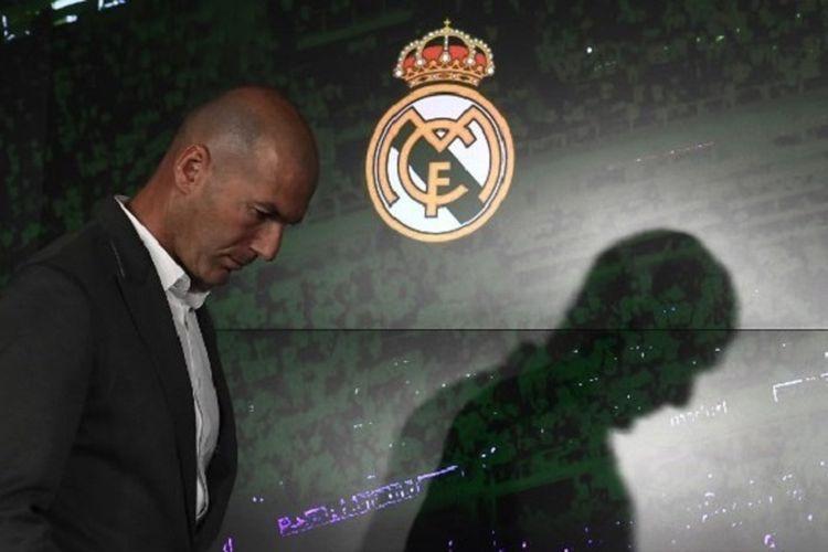 Zinedine Zidane diperkenalkan sebagai pelatih baru Real Madrid, 11 Maret 2019.
