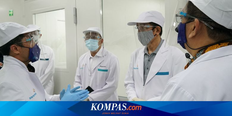 Erick Thohir: Vaksin Merah Putih Mulai Diproduksi 2022
