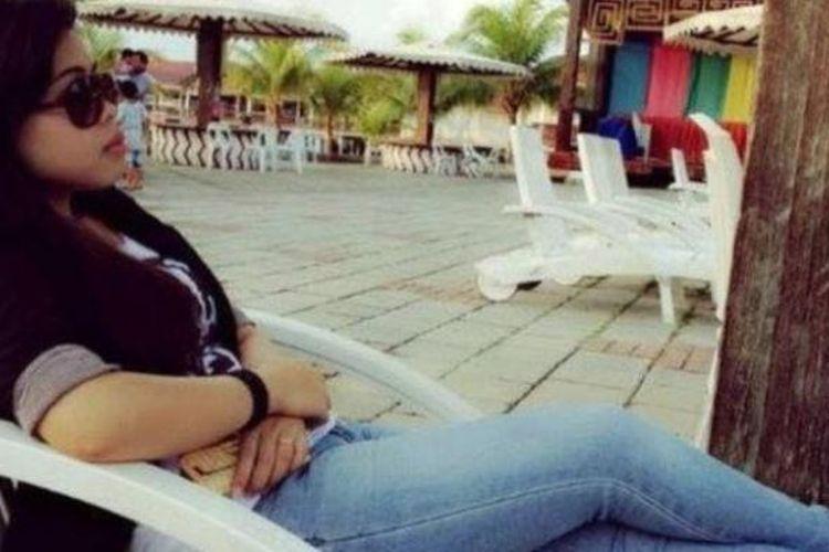 Salah satu foto Siti Aisyah yang diunggah ke akun Facebooknya.