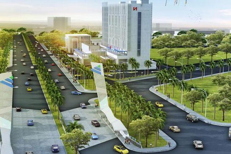 Hotel Swiss-Belinn ModernCikande masuk di dalam area kawasan industri ModernCikande, Serang, Banten.