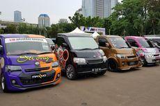 Ratusan Mobil Daihatsu Ikuti Final