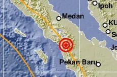 Gempa Bermagnitudo 5 Guncang Tapanuli Utara