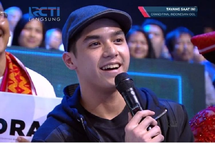 Al Ghazali(Bidik layar live streaming YouTube Indonesian Idol X)
