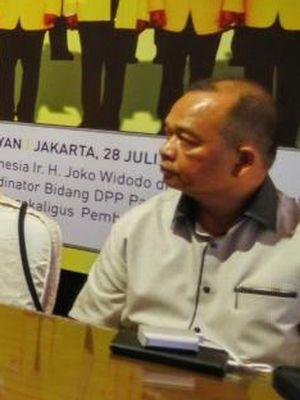 Ketua Bidang Kajian Ideologi dan Kebijakan Publik Dewan Pimpinan Pusat Partai Golkar Happy Bone Zulkarnain