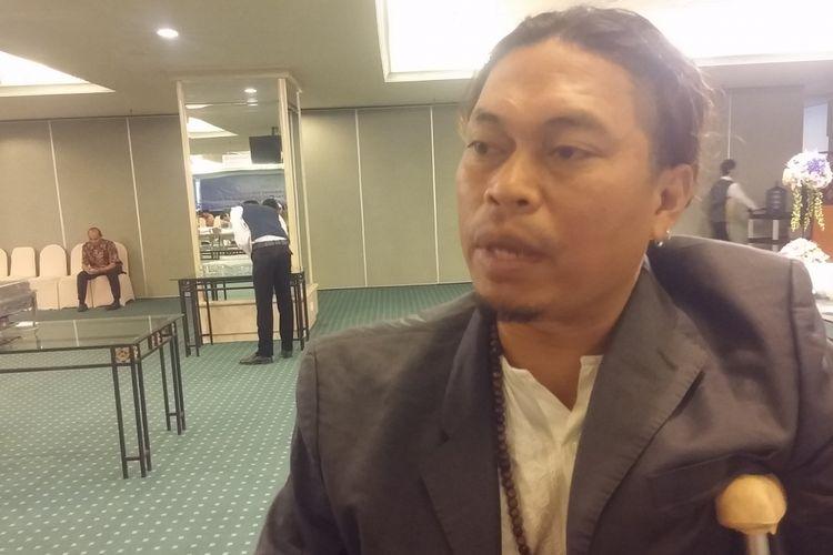 Ketua Dewan Kesenian Jawa Timur, Taufik Monyong