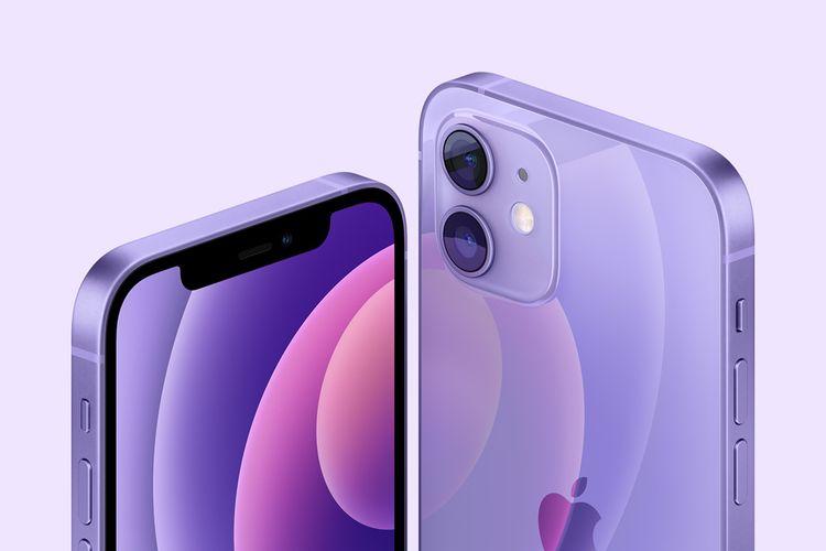 iPhone 12 Purple.