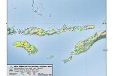 Ada 5 Titik Panas Terdeteksi di Pulau Sumba, Ini Lokasinya