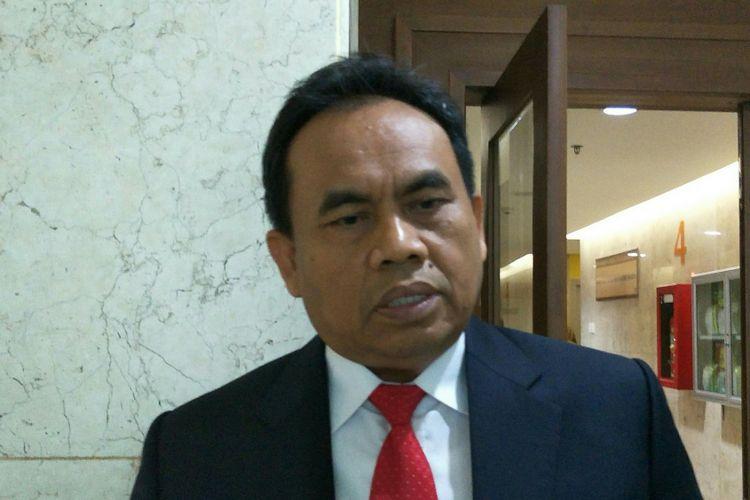 Sekretaris Daerah DKI Jakarta Saefullah di Balai Kota DKI Jakarta, Jalan Medan Merdeka Selatan, Rabu (26/9/2018).