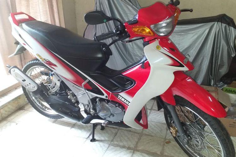 Yamaha 125z milik Henry yang ditawarkan dengan harga Rp 150 juta