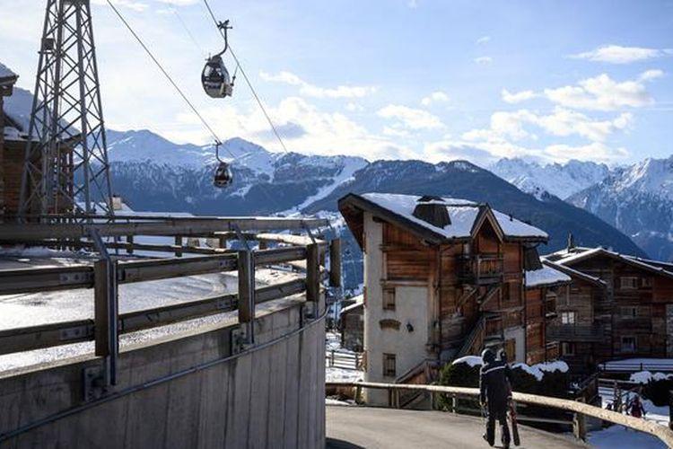 Resor ski Verbier di Swiss.