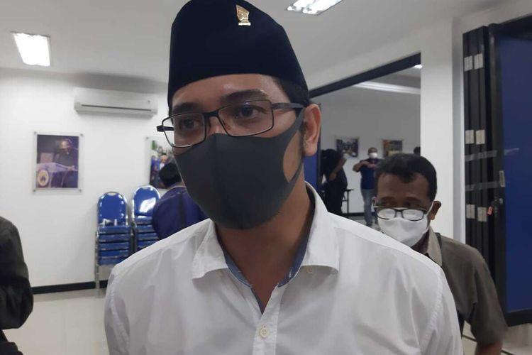 Bakal calon wali kota Pasuruan Petahana, Raharto Teno Prasetyo.