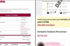 Data Pribadi Nasabah Juga Dijual Secara Online, Jumlahnya Jutaan...