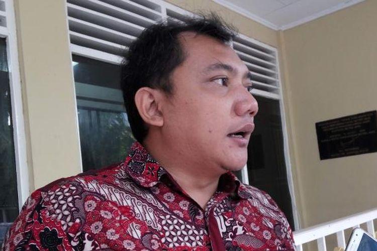 Panitia aksi Kita Indonesia bidang advokasi, Taufik Basari saat di Mapolda Metro Jaya, Senin (5/12/2016).