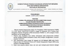 Simak, Kemenpan RB Umumkan Jadwal dan Lokasi Tes SKD CPNS 2019
