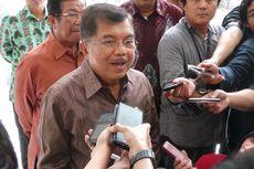 Resmikan Pabrik, Wapres Jusuf Kalla Menumpang Helikopter