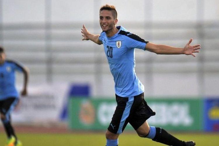 Gelandang timnas Uruguay, Rodrigo Bentancur.