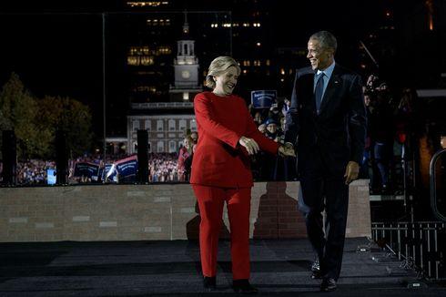 Barack Obama dan Hillary Clinton Jadi Orang Paling Dikagumi di AS