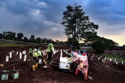 UPDATE: 306 Pasien Covid-19 Meninggal dalam Sehari, Tertinggi Selama Pandemi